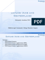 Datums (Axis and Centerplane)