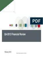 Financial Q4-13