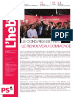 L'Hebdo 779-780 spécial Congrès de Poitiers