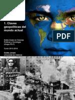 Claves Geopolíticas del mundo actual