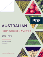 Australian Biopesticides Market - Growth, Trends And Forecasts (2014 - 2019)