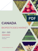 Canada Biopesticides Market - Growth, Trends And Forecasts (2014 - 2019)