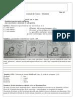 II Unidade - 5ª Série(Ciencias)