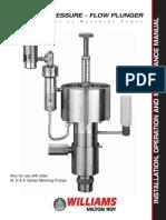 Hi Pressure Plunger Pump KPD