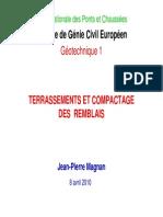 Terrassements Et Compactage Des Remblais-Avril2010