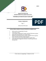 SULIT 4541/1 Chemistry Paper 1 Mei 2007
