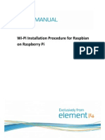 Element14 - Wi-Pi User Manual