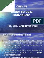 Curs VI- Limite de Doze Individuale