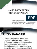 Basis Data Fuzzy Metode Tahani