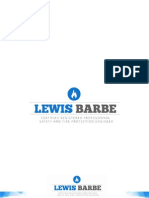 Lewis Barbe - Test the Effectiveness of Drawing Lubricants Case