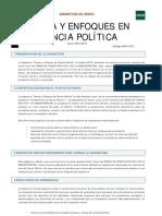 Teorias de La Ciencia Politica