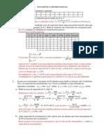 Ejercicios mates 1 bach - Estadística Bidimensional Con Soluciones