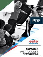 1. Especial Instituciones Deportivas