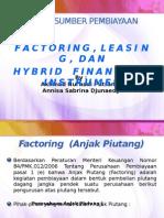 Factoring, Leasing, Dan Hybrid Financial Instrument
