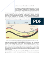 Shale Gas From Conventional Reservoirs to Unconventional Reservoirs