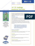 M4110 Leakage Reactance Interface