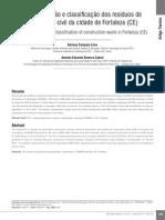 Adriana Lima - Caracterização e Classificação Dos Resíduos - 2012