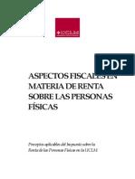 Aspectos Fiscales en Materia de Irpf