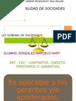 LEY DE SOCIEDADES