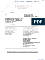 Haddad v. Indiana Pacers et al - Document No. 5