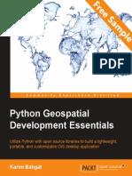 Python Geospatial Development Essentials - Sample Chapter