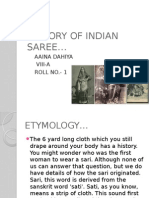 History of Indian Saree