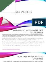final cut of presentation music video