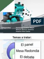 Mesa Panel y Debate.ppt