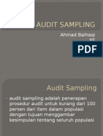 Audit Sampling