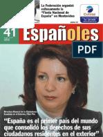 Revista Españoles, número 41 Octubre 2009