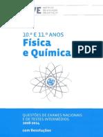 Livro Fq a Do Iave - 10º e 11º Anos - Exames e Ti - 2008-2014