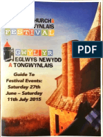 Whitchurch and Tongwynlais Festival 2015