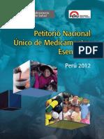 Petitorio Nacional de Medicamentos - Perú