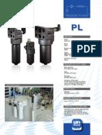 ufi filteri visokotlačni 315 bara Q =400 lmin bočna  montaža