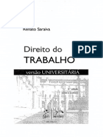 Renato Saraiva - Direitro Do Trabalho - Versão Universitária