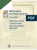 Reporte de Inflacion Mayo 2015