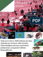 Influencia Humana en El Ambiente Recursos y Contaminación 2015