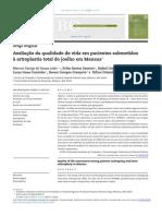 qualidade de vida em pacientes submetidos à artroplastia total do joelho.pdf