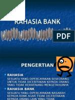 Perbankan 9 - Rahasia Bank