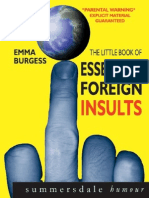 [Emma Burgess] Little Book of Essential Foreign Insults