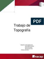 Trabajo de Topografia