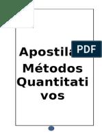 Metodos Quantitativos