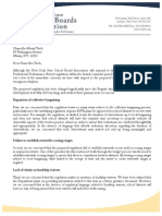 NYSSBA letter on teacher evaluations