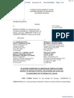 Haddad v. Indiana Pacers et al - Document No. 18