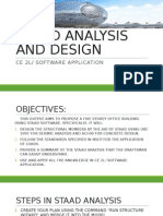 Staad Analysis and Design