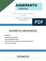 Aplainamento (planing)
