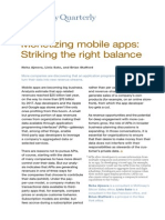 Monetizing Mobile Apps Striking the Right Balance