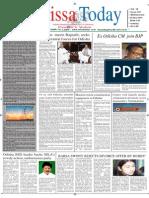 Orissa Today 13 June 15