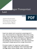 Perkembangan Transportasi Laut