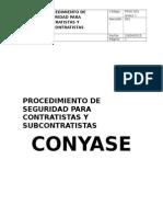 Procedimiento de Seguridad Para Contratistas y Subcontratistas